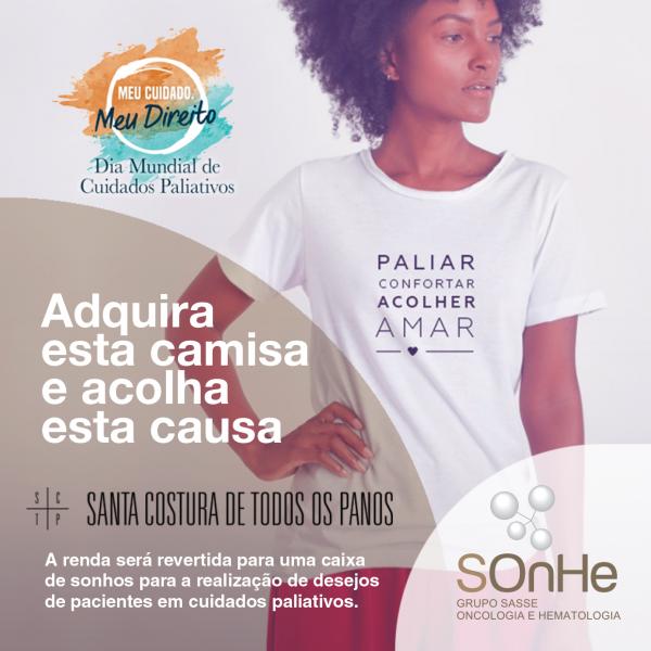 Lançamento Camiseta de Cuidados Paliativos