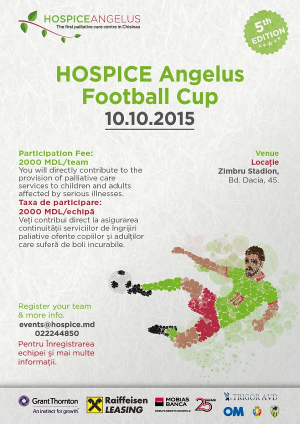 5th HOSPICE Angelus Football Cup