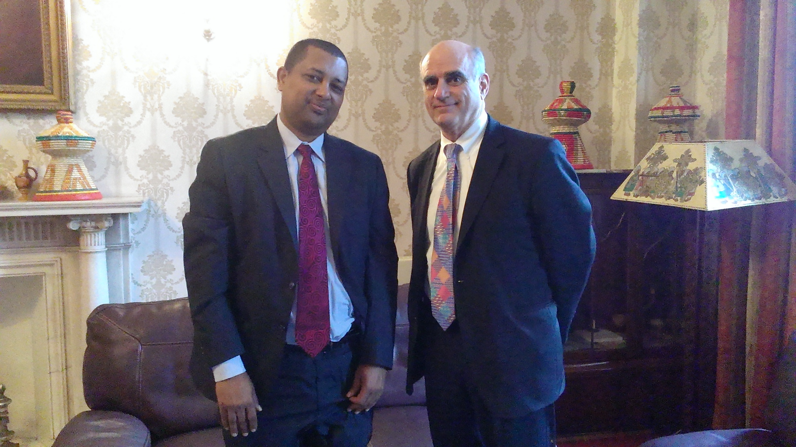 Mr. Fekadu Beyene and Dr. Stephen Connor