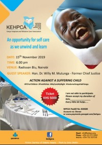 Fundraising dinner: An opportunity for self care as we unwind and learn