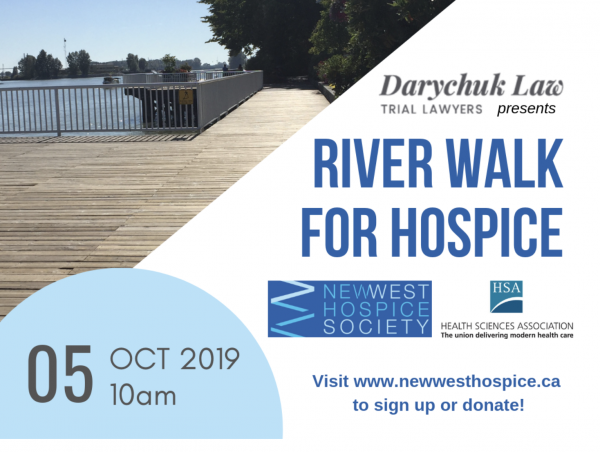 River Walk for Hospice & Voices for Hospices presented by Darychuk Law