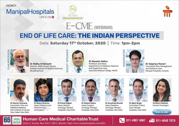 END OF LFE CARE-THE INDIAN PERSPECTIVE (E CME)